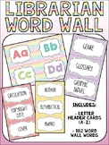 Library Word Wall - Vocabulary Words for the Library Media Center