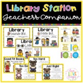 Library Work Station {Teacher's Companion}