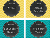 Library and Word Wall Labels