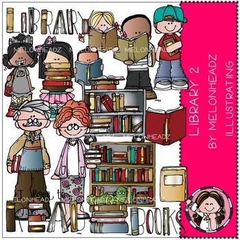 Library 2 clip art - by Melonheadz