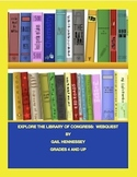 Library of Congress: Explore Our Nation's Library(Webquest)