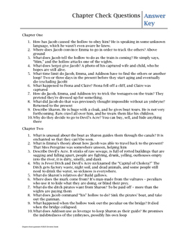 Library of Souls chapter check questions