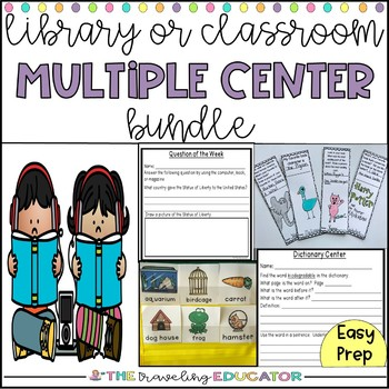 Library or Classroom Center Bundle