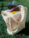 Library tote or project bag