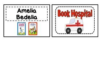 LibraryBook Bin Labels