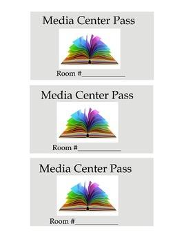 Library/Media Center Passes