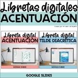 Libreta Digital Acentuación - SPANISH Accents Distance Lea