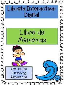 Spanish End of Year Libro de Memorias Digital