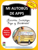 Back to School Libreta Interactiva: Autobús de aplicaciones y rúbrica:Craftivity