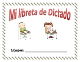 Libreta de Dictado (writing notebook)