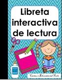 Libreta interactiva de lectura- cuaderno interactivo de lectura