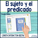 Sujeto y predicado - Subjects and Predicates - Distance Learning