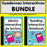 Libretas - Cuadernos interactivos de Lectura Spanish/English BUNDLE