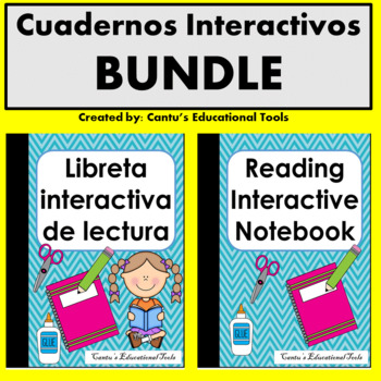 Libretas - Cuadernos interactivos de Lectura Spanish/English BUNDLE