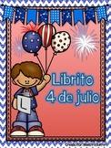 Librito-Edición #BilingualBlogHop 4 de Julio