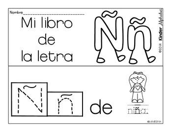 Librito Ññ {Oraciones Simples}