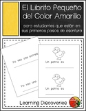 Amarillo, Libro de Escribir en Español - Little Book to Wr