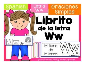 Librito Ww {Oraciones Simples}