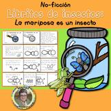 Libritos de insectos NO-FICCIÓN La mariposa es un insecto