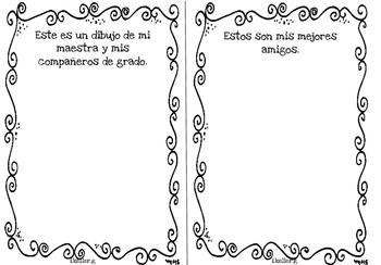 Librito de memorias! Memories book END OF THE YEAR! 3rd. grade