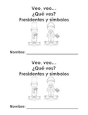 Librito de presidentes y simbolos - Presidents mini book i