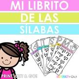 Librito de sílabas! Comes in B&W and in color!