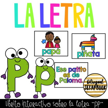 Librito interactivo de la Pp (Letter Pp interactive reader - PowerPoint)