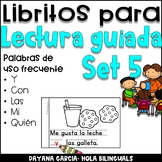 Librito- lectura guiada SET 5