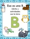 Librito y actividades con la letra B