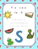 Librito y actividades con la letra S