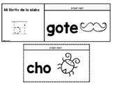 Libritos De Las Sílabas- Spanish Syllables Flip Books