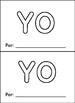 Libritos de Palabras de Alta Frecuencia High frequency Word Books set 1