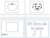 Libritos de Vocabulario Letra J y W