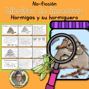 Libritos de insectos NO-FICCIÓN Hormigas y su hormiguero