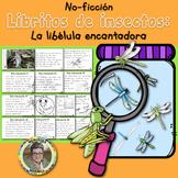 Libritos de insectos NO-FICCIÓN La libélula encantadora