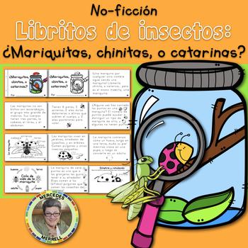 Libritos de insectos NO-FICCIÓN ¿Mariquitas, chinitas, o catarinas?