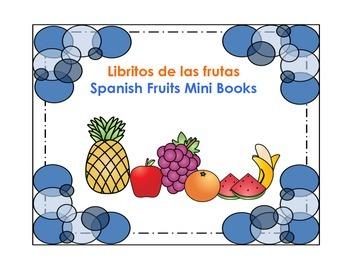 Libritos de las frutas-Spanish Fruits Mini Books