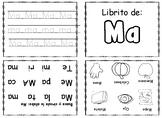 Libritos de las silabas M, P, S y L.