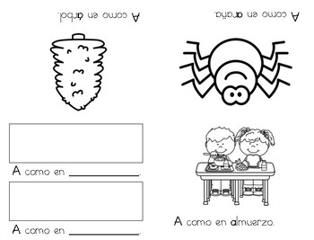 Libritos de las vocales (Spanish Vowel Mini-Books)