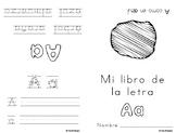 Libritos de las vocales (Spanish Vowel Mini-Books)