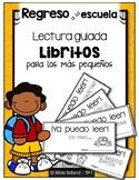 Libritos de lectura guiada para los más pequeños  ¡En español!