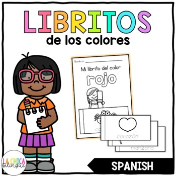 Libritos de los Colores (Color Flip Books in Spanish)