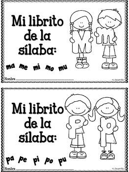 """Libritos de sílabas - Adición para """"Las sílabas musicales"""""""