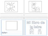 Libritos de vocabulario letra Ñ y H