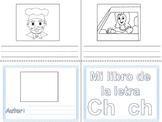 Libritos de vocabulario letras Ch y Ll