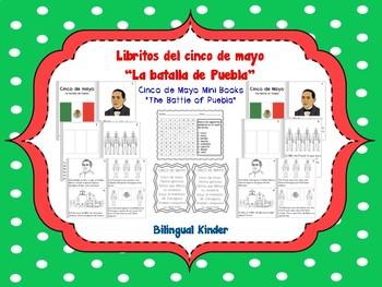 Libritos del cinco de mayo - Cinco de Mayo Mini Books