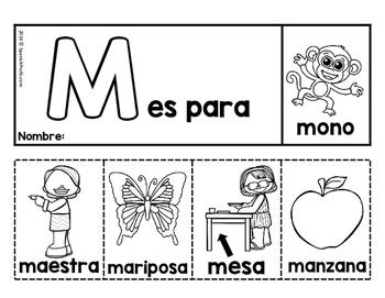 Libritos en espanol del alfabeto (Alphabet Flip books in Spanish)
