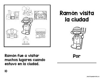 Libritos faciles La ciudad (Easy Reader Books Spanish City)