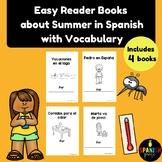 Libritos faciles el verano (Easy Reader Books Spanish Summer )