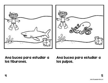 Libritos faciles los animales (Easy Reader Books Spanish Animals )